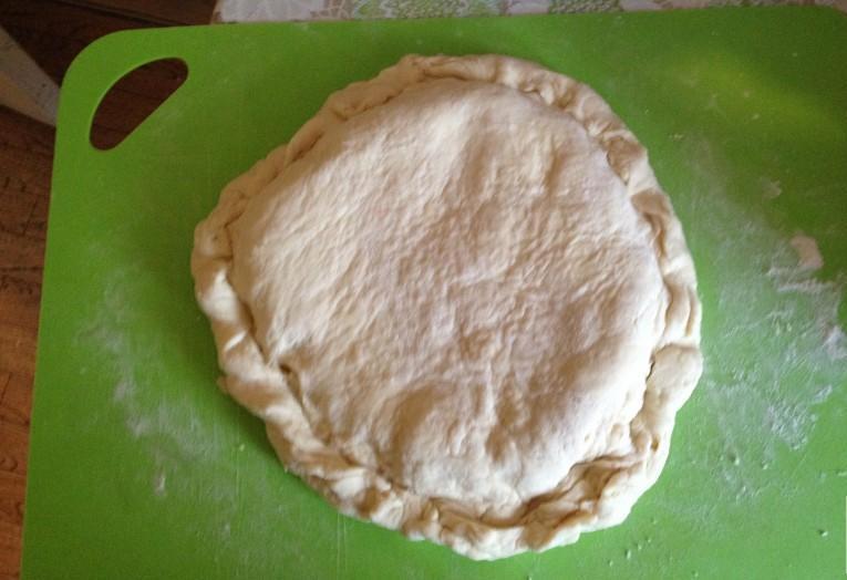 Закрытый пирог с картошкой16