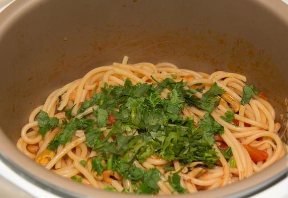 Итальянская паста с морепродуктами 11