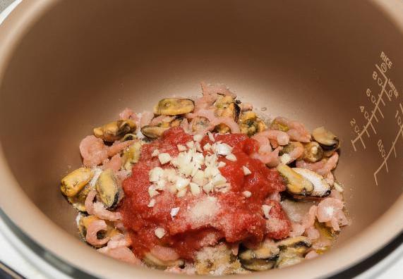 Итальянская паста с морепродуктами 5