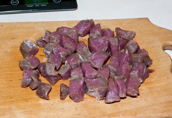 Капуста тушеная с мясом в мультиварке2