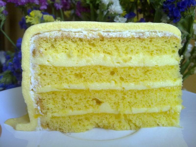 Лимонный торт в мультиварке 2