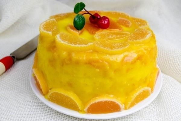 Лимонный торт в мультиварке 4