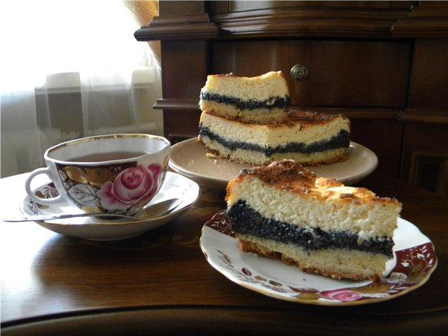 Финский пирог с творогом в мультиварке 6