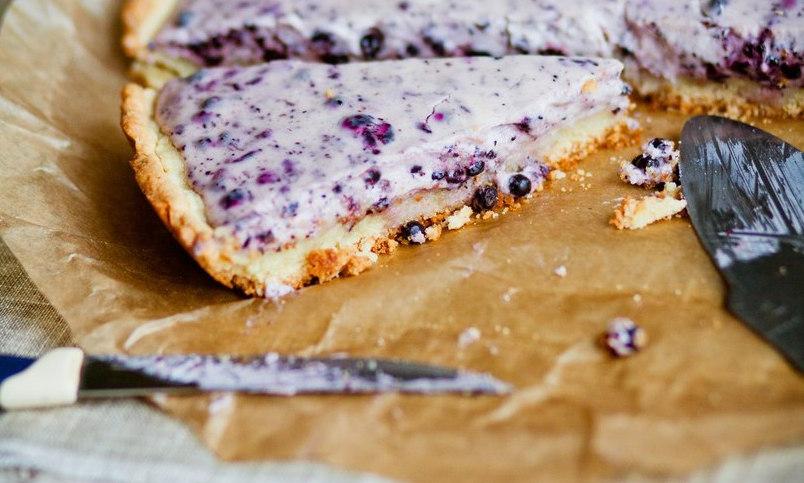Финский пирог с творогом 2