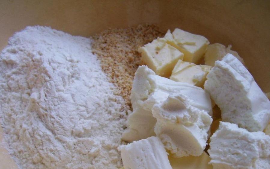 Финский пирог с творогом 3