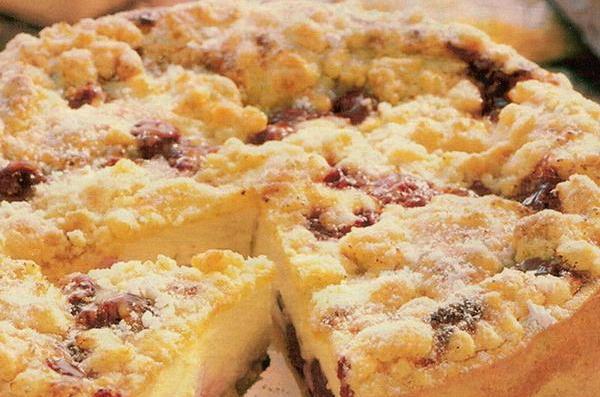 Финский пирог с творогом 4