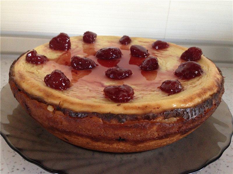 Финский пирог с творогом 5