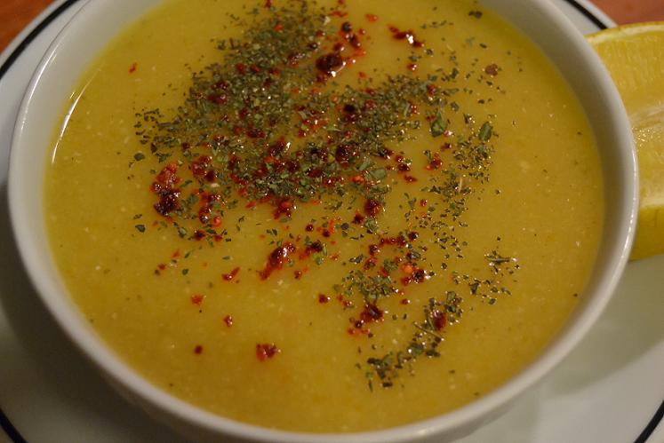 чечевичный суп с апельсином
