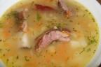 сырный суп с ребрами