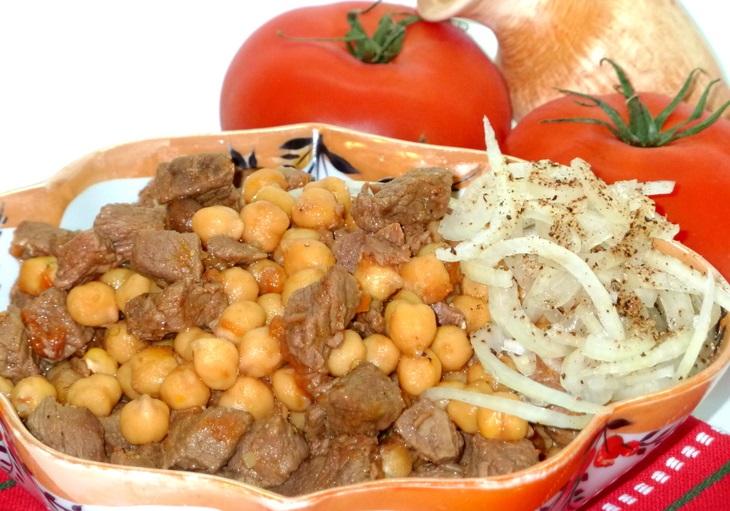 Узбекское блюдо Гуштнут
