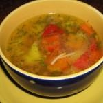 Суп из свинины с овощами
