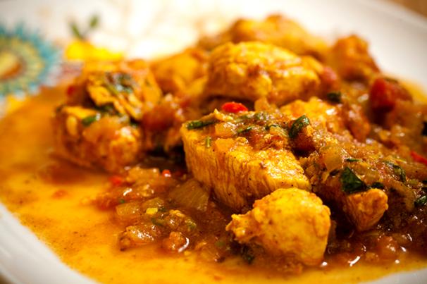 Рецепт курицы с карри