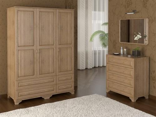 Мебель в спальню и прихожую. Шкафы из березы на заказ по индивидуальным размерам