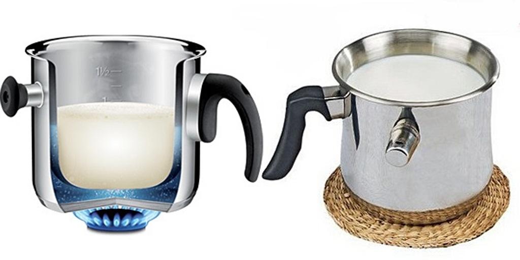 Для чего пригодится молоковарка с двойными стенками на вашей кухне