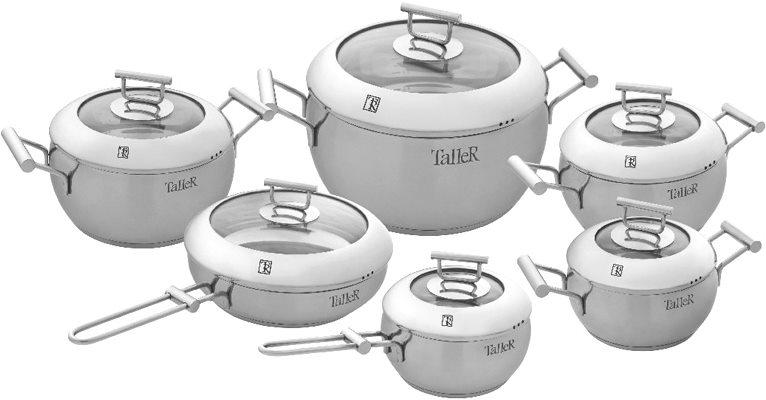 Нержавеющая посуда на кухне