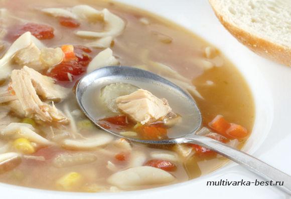 Диетический суп из индейки