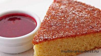 Греческий пирог Равани в мультиварке