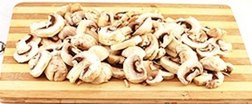 Картофель тушенный с грибами в мультиварке 03