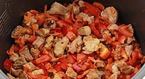 Рисовый суп мультиварки 6
