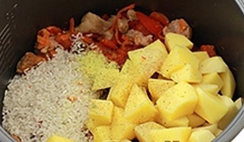 kavkazskij risovy sup dla multivarki 7