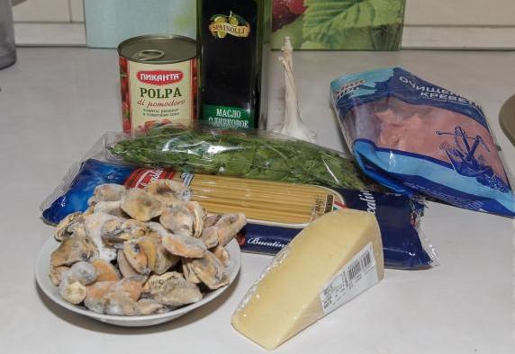 Итальянская паста с морепродуктами 2