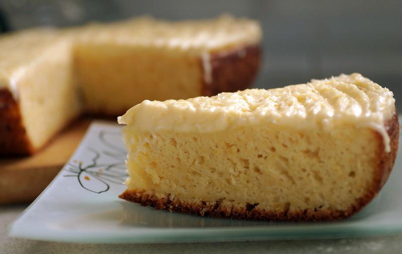 Лимонный торт в мультиварке 3