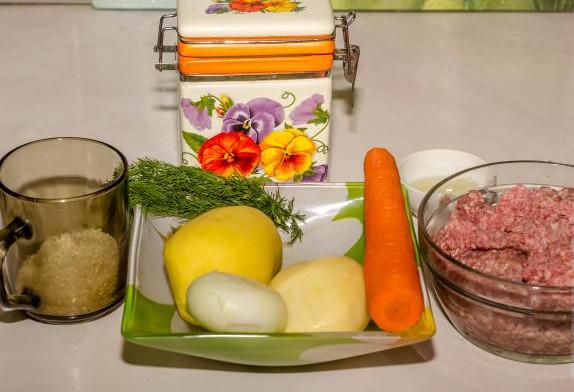 Суп с фрикадельками в мультиварке 2