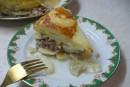 Фаршированная картофельная запеканка в мультиварке