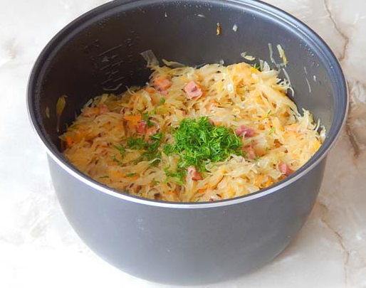 Рецепты квашеной капусты в мультиварке