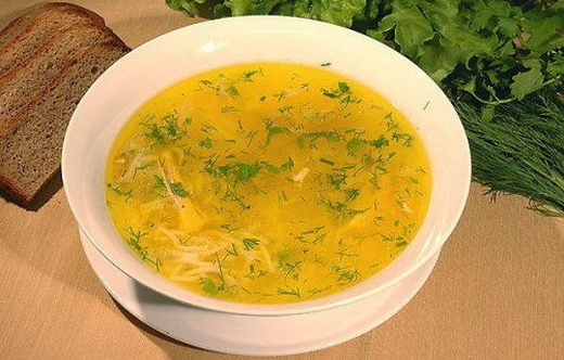 Куриный суп с картошкой в мультиварке