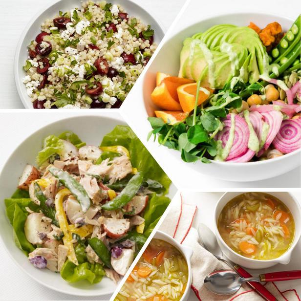 Оригинальное и полезное меню обеда