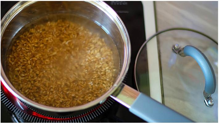 Как приготовить цельнозерновую полбу на гарнир, сколько варить по времени