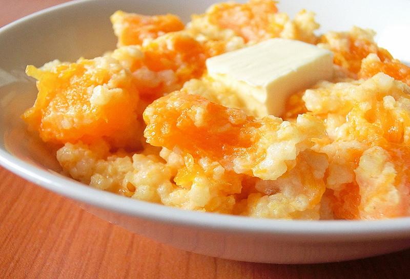 Рецепты тыквенной каши на молоке с рисом в мультиварке