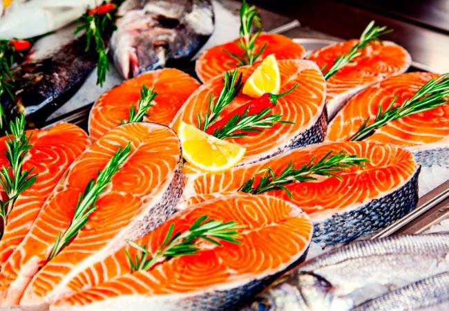 Прием полезных продуктов. Доставка дикой рыбы на дом в Москве и МО