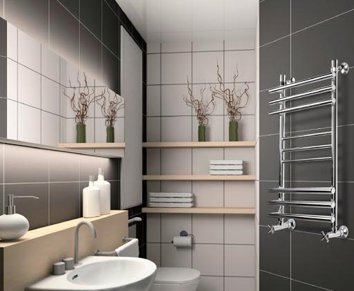 Электрический полотенцесушитель: качественный обогрев и простой монтаж