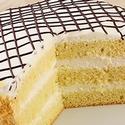 Домашний бисквитный торт в мультиварке со сметанным кремом