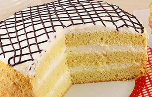 бисквитный торт в мультиварке 0