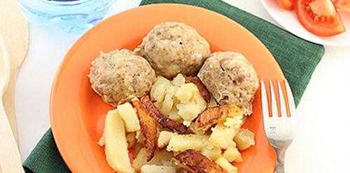 рецепт картофель и мясо в мультиварке