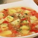 Кавказский рисовый суп в мультиварке