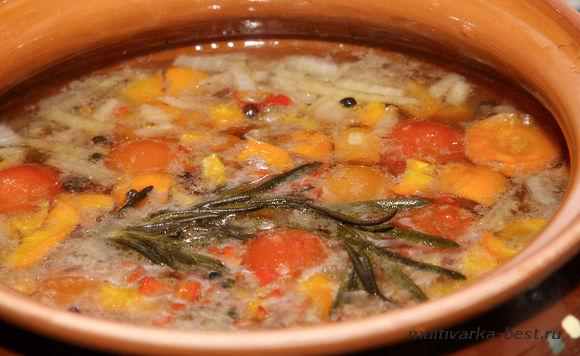 Запеченный суп